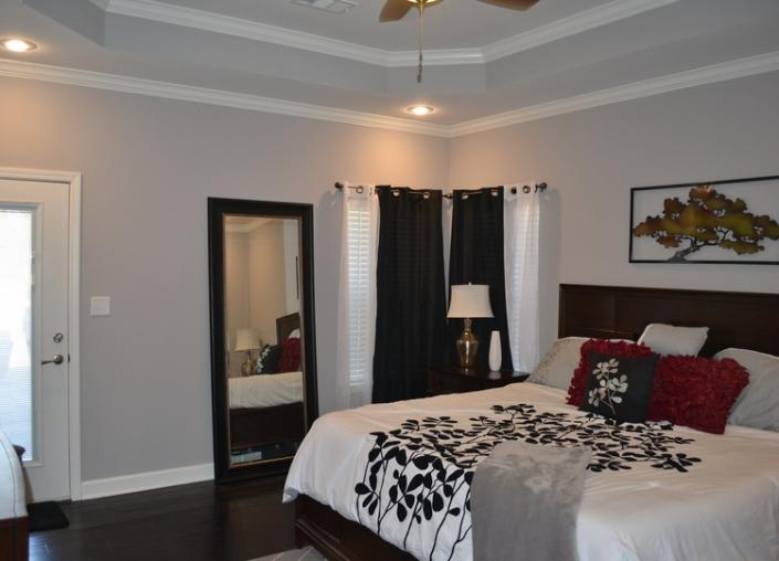 We can add modern touches to any bedroom including hardwood floors, crown molding, walk-closets and more!